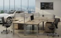 Open-Spase-современный офисный стиль