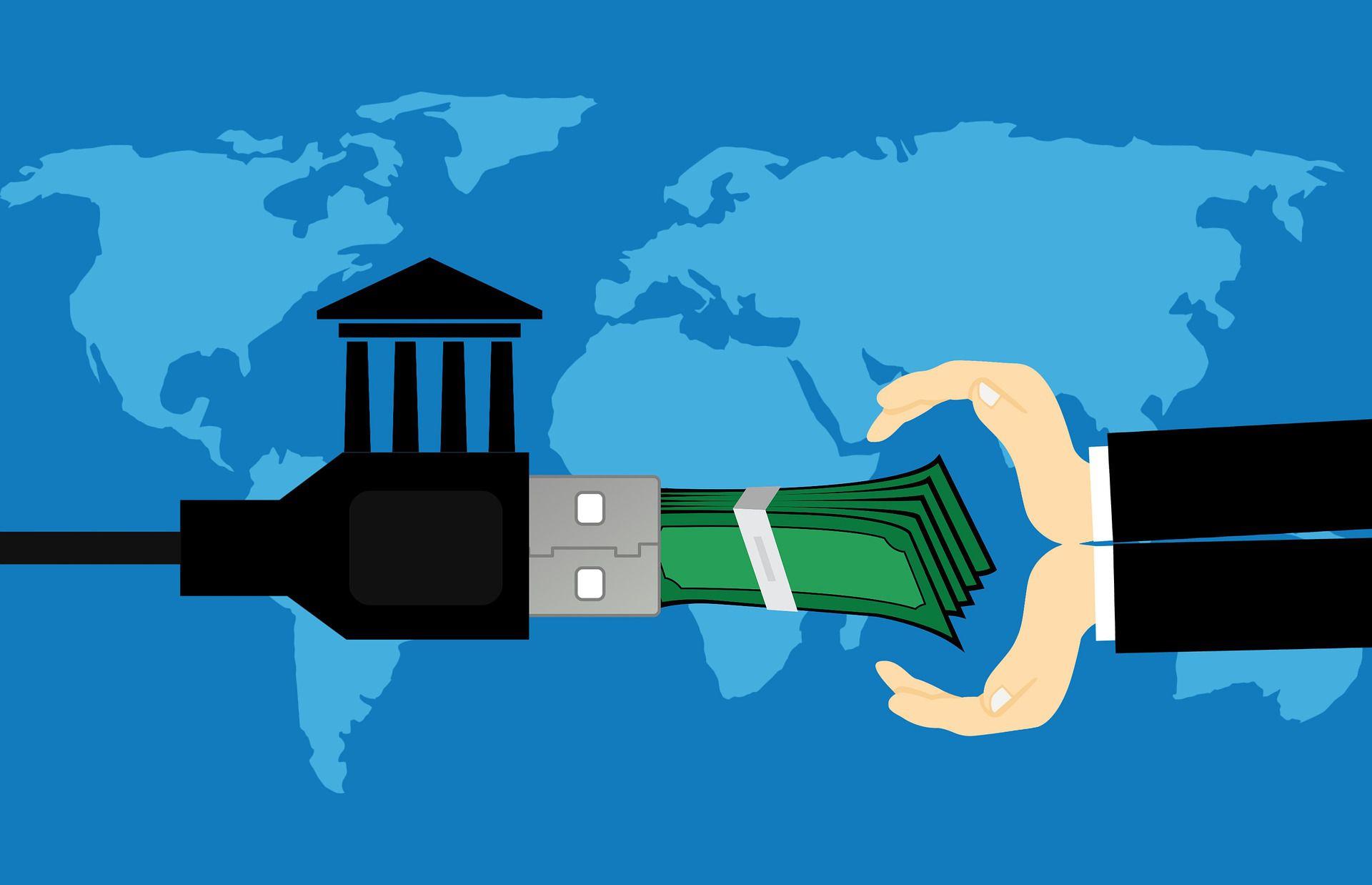 банк посредник при покупке валюты
