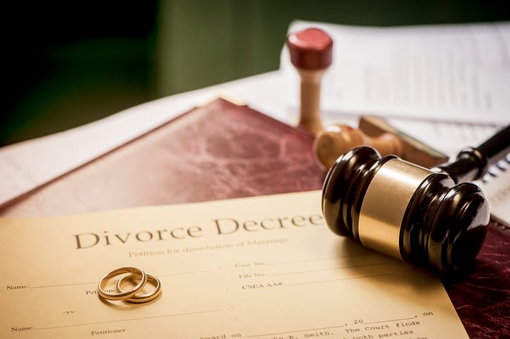 раздел имущества при разводе в Израиле